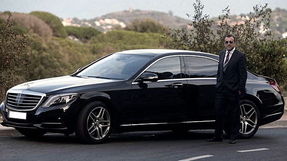 Barcelona private chauffeur