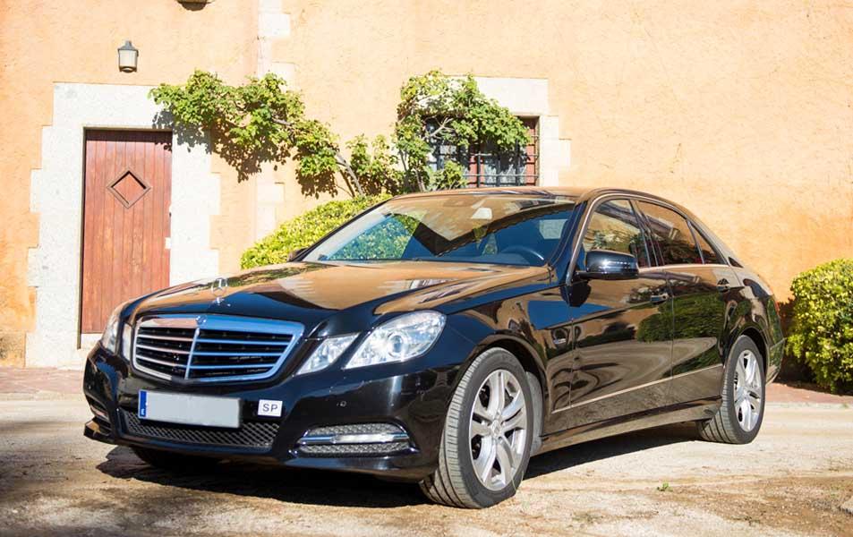 Taxi de lujo Mercedes clase E Barcelona