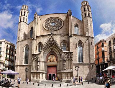 Basílica de Barcelona Santa María del Mar