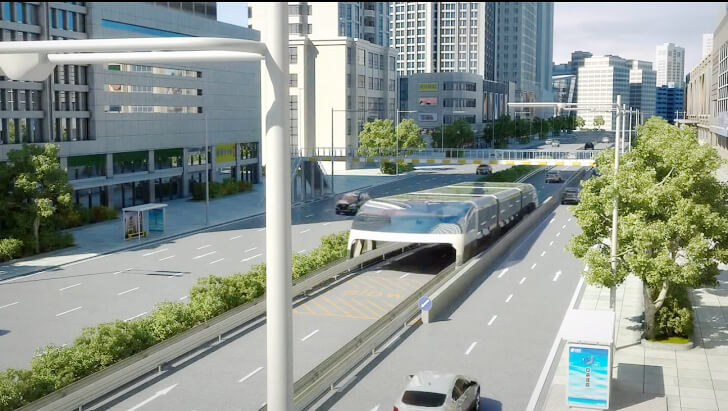 Land Airbus para el transporte de personas