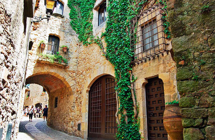 Ciudad de Cataluña medieval