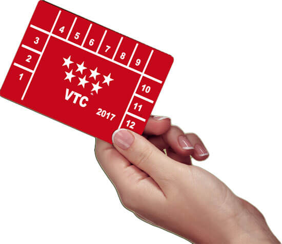 Tarjeta de transporte VTC