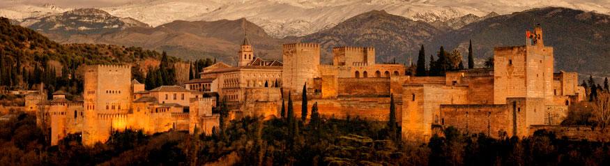 Alhambra de Granada en España