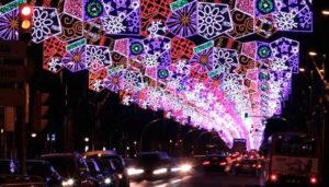 Luces de navidad Barcelona
