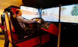 Simulador conducción