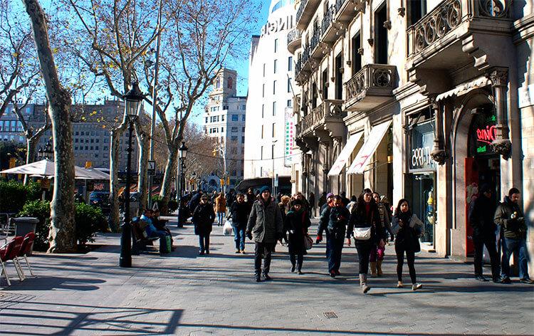 Comprar en Barcelona con chófer