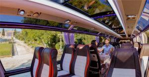 Autobús con chófer en barcelona