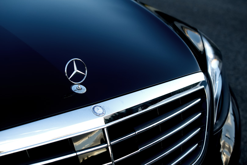 Frontal Mercedes Benz Classe S