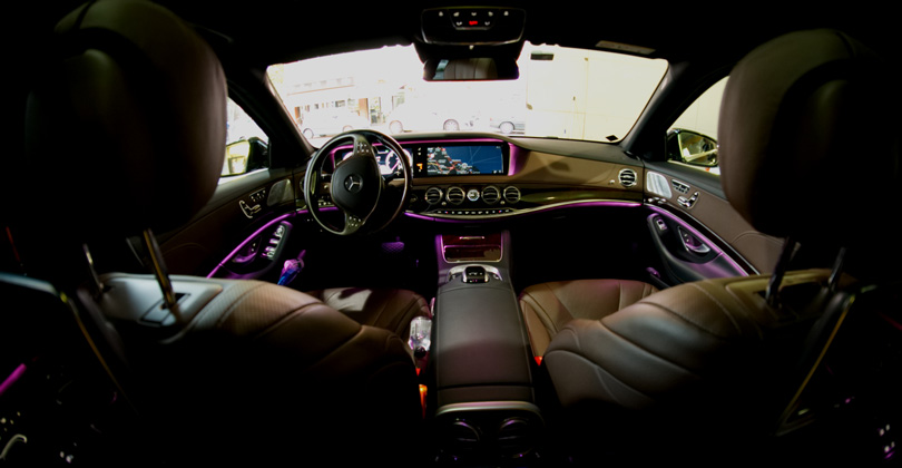 Interior Mercedes Benz Clase S