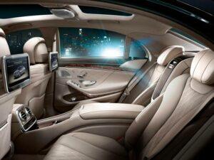 Mercedes Clase S como turismo de lujo para desplazamientos