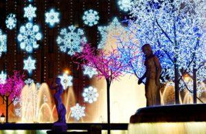 Alquiler de coche con chofer para Navidad en Barcelona
