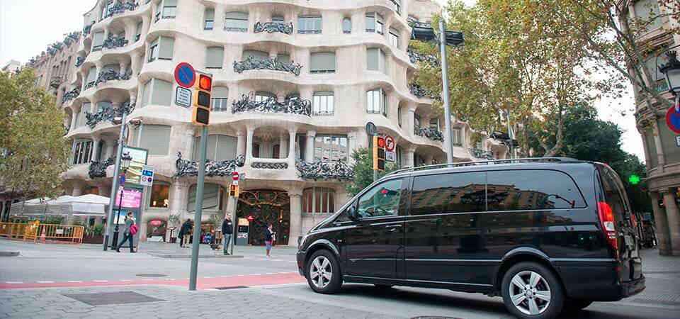 Chófer personas en Barcelona