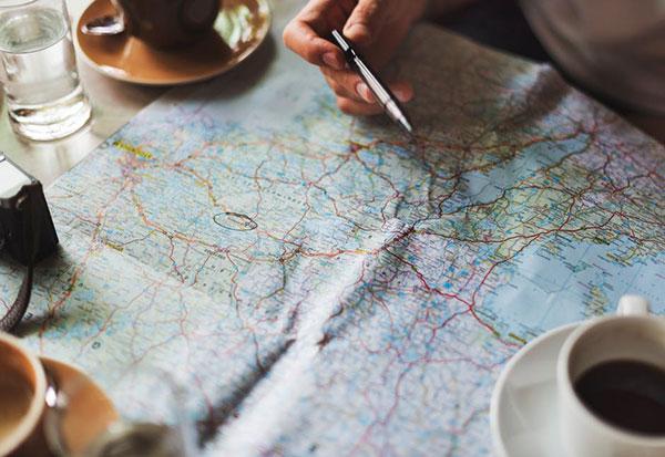 itinerario para viajar