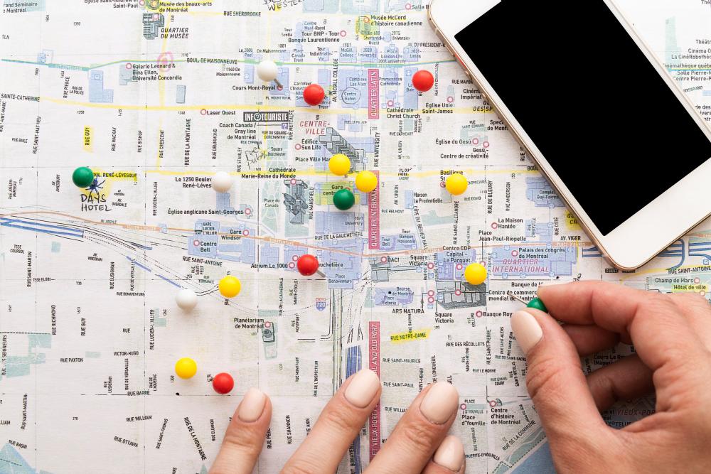 planificar excursiones y paradas